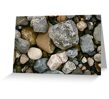 Rocks and Stones in Donegal Greeting Card
