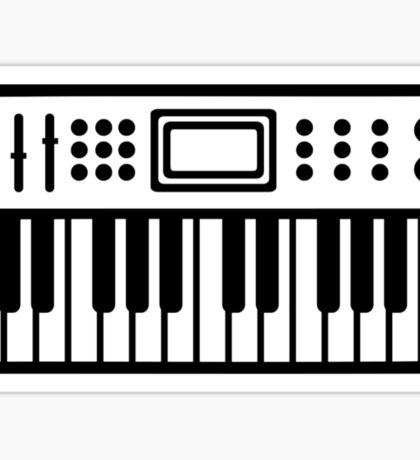 Keyboard piano Instrument Sticker