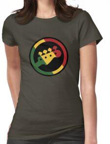 Rasta bass  Womens Fitted T-Shirt