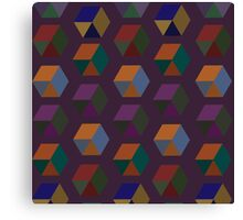 Cubular Canvas Print