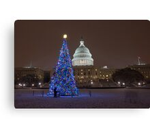 Have Yourself a Capitol Christmas Canvas Print