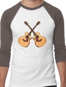 Wonderful Taylor Guitars  Men's Baseball ¾ T-Shirt