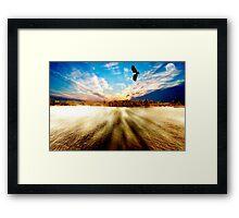 Forster Sunset Framed Print