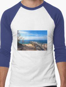 Sleeping Bear Dunes Overlook Men's Baseball ¾ T-Shirt