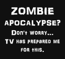 ZOMBIE APOCALYPSE? Don't worry...video games have by evahhamilton