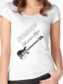 Rickenbacker American style Women's Fitted Scoop T-Shirt