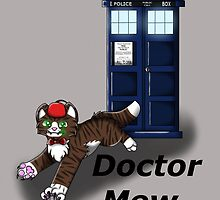 Doctor Mew by budgieartz
