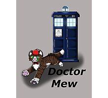Doctor Mew Photographic Print