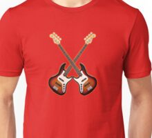 Double fender jazz bass lefty  Unisex T-Shirt