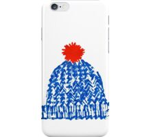 Winter Bobble Hat iPhone Case/Skin