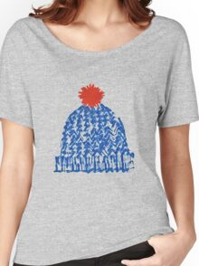 Winter Bobble Hat Women's Relaxed Fit T-Shirt