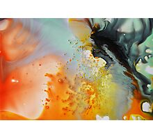 Abstraction on Orange  Photographic Print