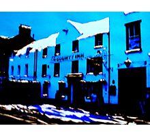 The County, Peebles (digitally enhanced photograph) Photographic Print