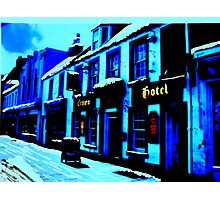 The Crown, Peebles (digitally enhanced photograph) Photographic Print