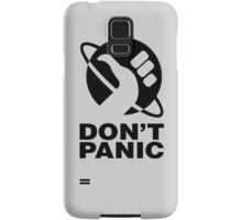 Don't Panic - Hitchhikers Guide Samsung Galaxy Case/Skin