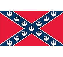 Star Wars Rebel Flag Photographic Print