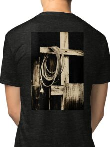 Cowboy Cross Tri-blend T-Shirt