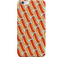 Hot Dog Pattern iPhone Case/Skin