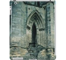 Side Doorway which had had steps to it Rievaulx Abbey North Yorkshire England 198406020038 iPad Case/Skin