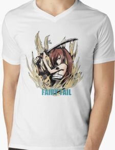 Fairy Tail: Erza Mens V-Neck T-Shirt