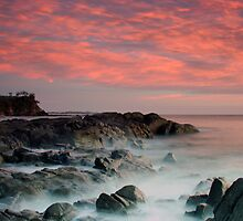 Coolum Beach sunrise by David James