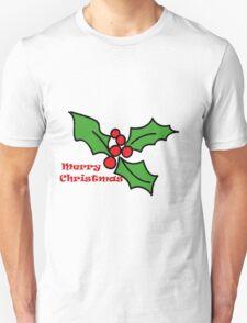 Merry Christmas Holly 1 T-Shirt