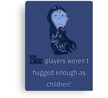 Charlie Brown's a blue player Canvas Print