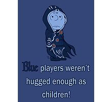 Charlie Brown's a blue player Photographic Print
