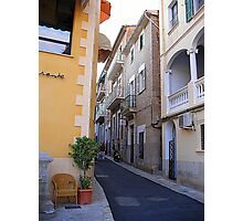 A Side Street In Soller...............................Majorca Photographic Print