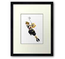 Sora (Kingdom Hearts) Framed Print