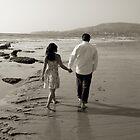 Walk on the Beach by valerieparent
