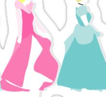 """""""Princesses Abbey Road"""" Sticker"""