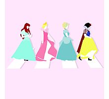 """Princesses Abbey Road"" Photographic Print"