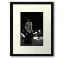 Don't Look At Me Framed Print