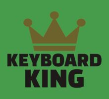Keyboard King Baby Tee