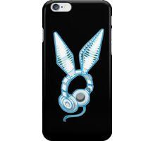 White Rabbit Earphones iPhone Case/Skin