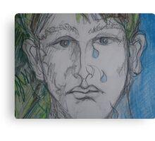 Sad Canvas Print