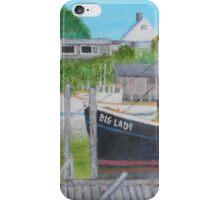 Fishing Boats - Menemsha iPhone Case/Skin