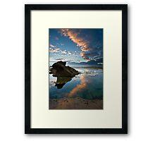 Pools Edge Framed Print