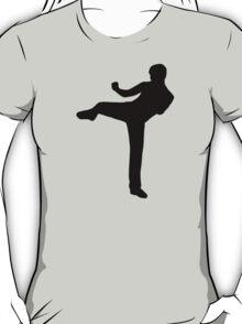Martial arts Karate kick T-Shirt