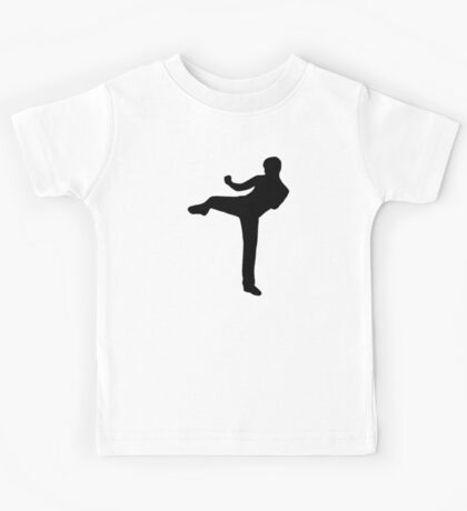 Martial arts Karate kick Kids Tee