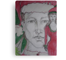 I'd like you for Christmas Canvas Print
