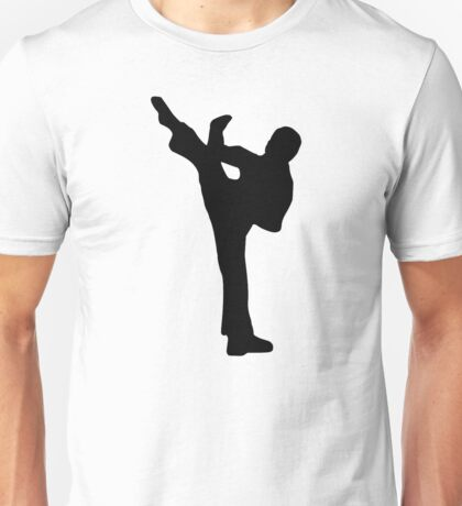 Karate kickboxing Unisex T-Shirt