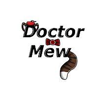 Doctor Mew Words Photographic Print