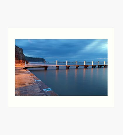 Six to One - Narrabeen, NSW Art Print