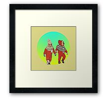 BABY THUGS. Framed Print