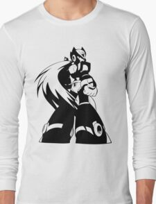Zero from Megaman X  Long Sleeve T-Shirt