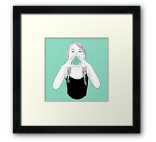 shout out loud Framed Print