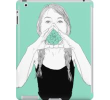 shout out loud iPad Case/Skin