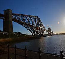 Forth Bridge from North Queensferry by Pete Johnston
